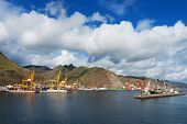 Port of Santa Cruz de Tenerife, Canary Islands, Spain