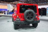 Jeep Wrangler 2015  On Display