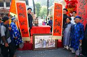 Vietnamese Calligraphy Fair, Traditional Ceremony