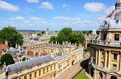 Brasenose college and Radcliffe Camera, Oxford.