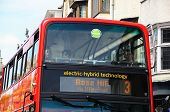 Electro-hybrid bus, Oxford.