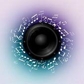 Music, eps10 vector