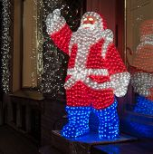 Glowing Santa Claus