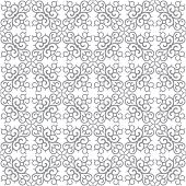 Abstract vector background Seamless Central asian pattern