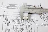 Caliper And Machine Parts