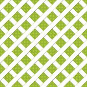 Green woven background