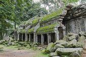 ancient castle Angkor Wat Temple