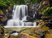 pic of virginia  - Upper Laurel Creek Falls is a waterfall in scenic New River Gorge area of Fayette County West Virginia - JPG