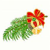 Christmas Decoration Lucky Symbols Vector