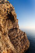 Neptune Grotto In Sardinia, Italy
