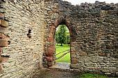 Inside Priory Ruin