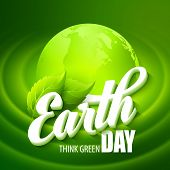 stock photo of planet earth  - Earth Day - JPG