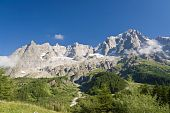 Le Grandes Jorasses - Mont Blanc