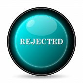 picture of rejection  - Rejected icon - JPG