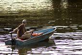 Fall fisherman