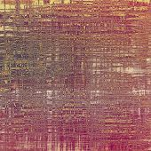 picture of violets  - Grunge stained texture - JPG