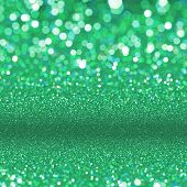 picture of glitz  - Abstract green background - JPG
