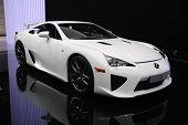 Lexus Lfa Sports At Paris Motor Show