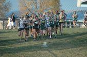 High School Girls Cross Country Race