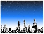 City Light skies