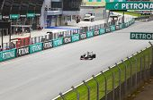 Formula 1, Gp Malaysia, Sepang, April 8 2011. Sergio Perez, Team Sauber