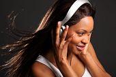 Amante de la música hermosa