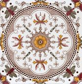 Victorian period decorative arts printed symmetrical