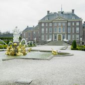 palace and gardens, Paleis Het Loo Castle near Apeldoorn, Netherlands