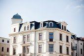 Old Historical Buildings In Leipzig
