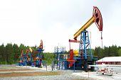 Pump jack, oil industry