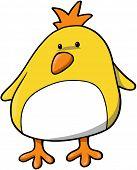 Baby Chick Vector Illustration