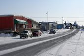 Looking South On Mackenzie Avenue, Inuvik