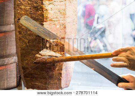 Cutting With Knife Doner Traditional
