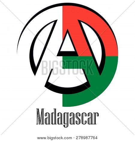 Flag Of Madagascar Of The