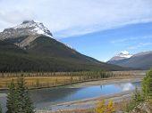 Mts. Amery And Saskatchewan Banff National Park, Alberta, Canada