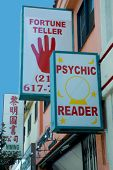 fortune tellers sign