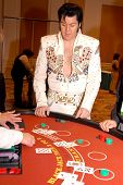 Las Vegas Blackjack Game With Elvis Presley Impersonator Brendan Paul Http://www.bestelvis.com