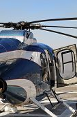Helicopter Chopper Abstract Open Right Hand Door