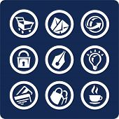Website And Internet Vector Icons (set 2, Part 2)