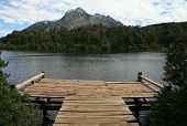 Lago perto de Bariloche