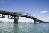 Auckland Harbour Bridge & City
