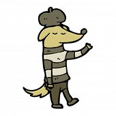 jazz dog cartoon