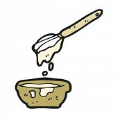 cooking mixture cartoon