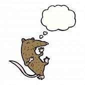 cartoon fighting rat