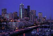 Seattle Night Lights
