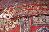 Heaps Of Valuable Oriental Carpets And Afghan Carpets For Sale