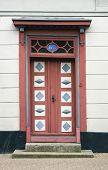 Skewed Door In Kerteminde