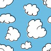 Seamless Pattern Of Clouds