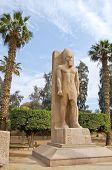 Pie estatua de Ramsés II