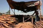 traditional sawmill